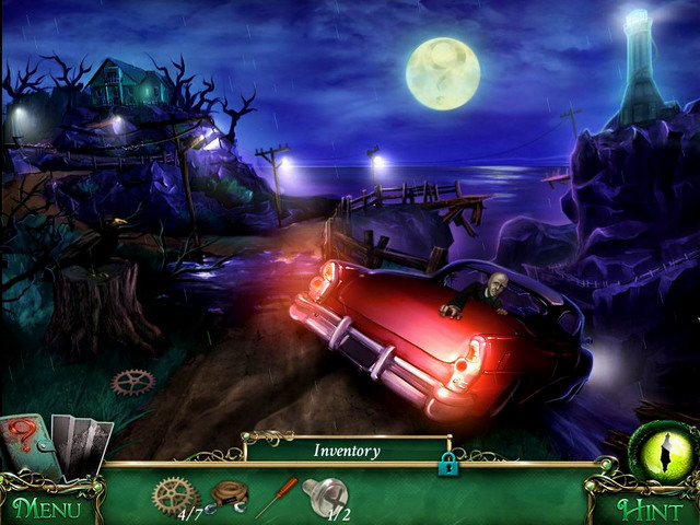 Cliffs: on left, next to the road - Collectibles - Collectibles and puzzles - 9 Clues: The Secret of Serpent Creek - Game Guide and Walkthrough