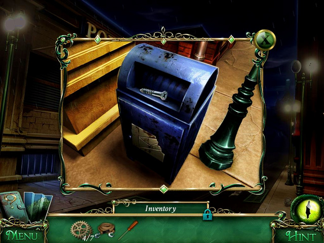 Street: on the mailbox, under the papers - Collectibles - Collectibles and puzzles - 9 Clues: The Secret of Serpent Creek - Game Guide and Walkthrough