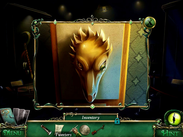 Exhibition: in the eye socket of golden snake head, under the green eye - Collectibles - Collectibles and puzzles - 9 Clues: The Secret of Serpent Creek - Game Guide and Walkthrough