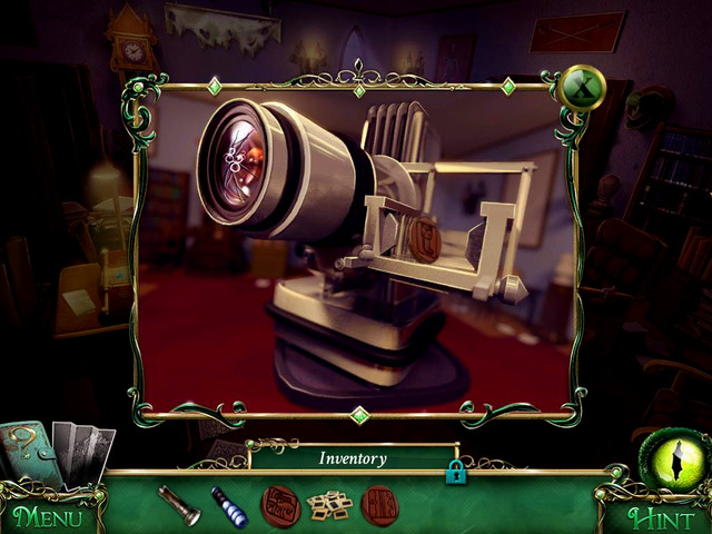 Library: on the projector - Collectibles - Collectibles and puzzles - 9 Clues: The Secret of Serpent Creek - Game Guide and Walkthrough