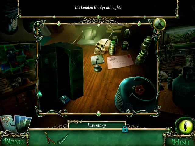 Study: on the table, next to the mysterious container - Collectibles - Collectibles and puzzles - 9 Clues: The Secret of Serpent Creek - Game Guide and Walkthrough