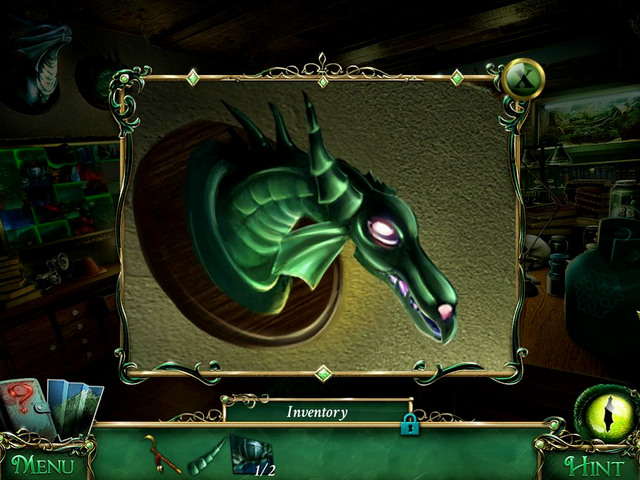 Study: in the dragon jaw - Collectibles - Collectibles and puzzles - 9 Clues: The Secret of Serpent Creek - Game Guide and Walkthrough