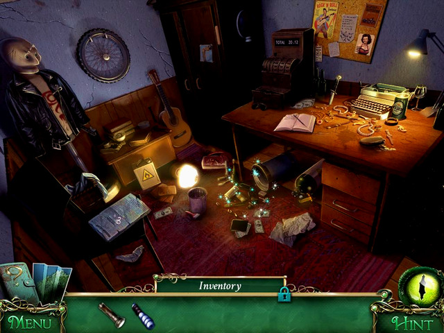 Falsen's room: on the chest of mannequin - Clues - Collectibles and puzzles - 9 Clues: The Secret of Serpent Creek - Game Guide and Walkthrough