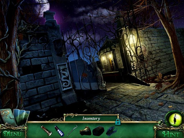 Cemetery: On wall on the left - Clues - Collectibles and puzzles - 9 Clues: The Secret of Serpent Creek - Game Guide and Walkthrough
