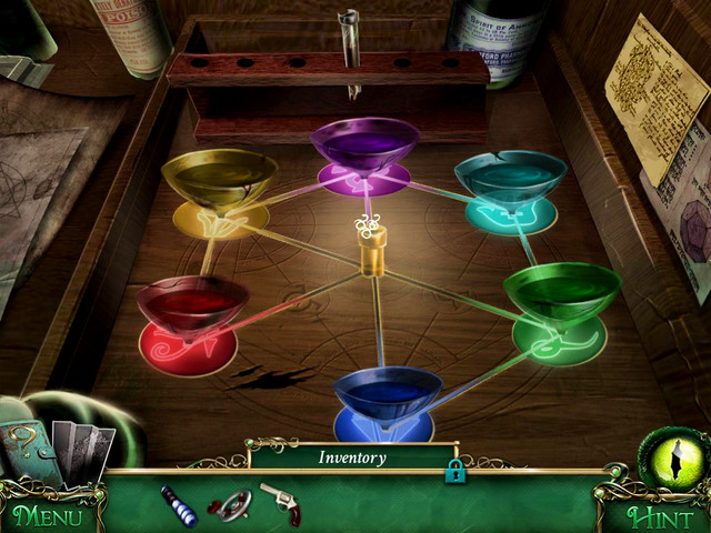 When you get all elements required for the beginning of the riddle, perform actions presented in the table below - Puzzles - Collectibles and puzzles - 9 Clues: The Secret of Serpent Creek - Game Guide and Walkthrough