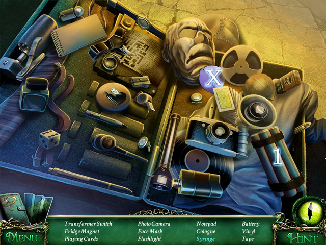 Crucial item [X] - Transformer Switch - Hidden-object scenes - Collectibles and puzzles - 9 Clues: The Secret of Serpent Creek - Game Guide and Walkthrough