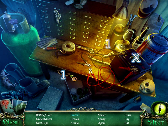 Crucial item [X] - Ammo - Hidden-object scenes - Collectibles and puzzles - 9 Clues: The Secret of Serpent Creek - Game Guide and Walkthrough
