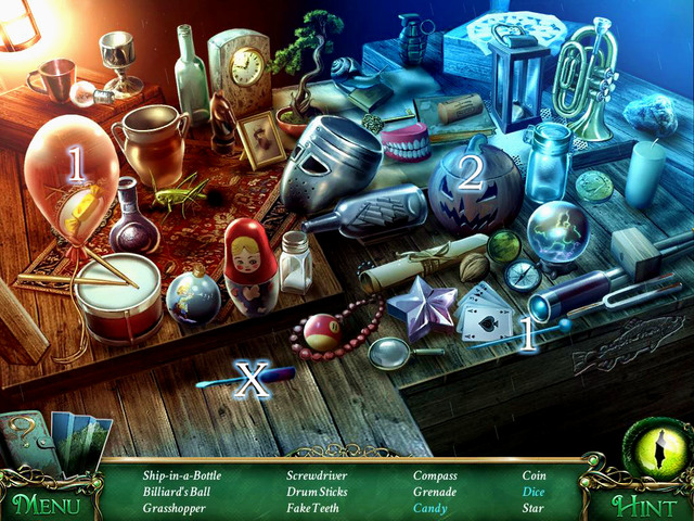 Crucial item [X] - Screwdriver - Hidden-object scenes - Collectibles and puzzles - 9 Clues: The Secret of Serpent Creek - Game Guide and Walkthrough