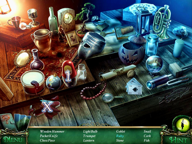 Crucial item [X] - Pocket Knife - Hidden-object scenes - Collectibles and puzzles - 9 Clues: The Secret of Serpent Creek - Game Guide and Walkthrough