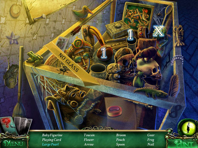 Crucial item [X] - Gear - Hidden-object scenes - Collectibles and puzzles - 9 Clues: The Secret of Serpent Creek - Game Guide and Walkthrough