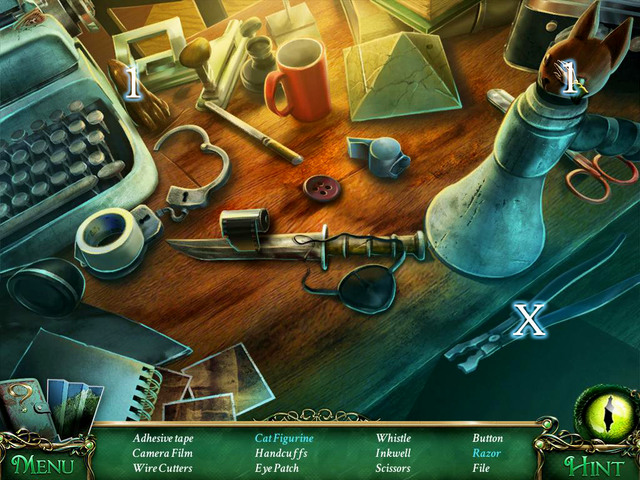 Crucial item [X] - Wire cutters - Hidden-object scenes - Collectibles and puzzles - 9 Clues: The Secret of Serpent Creek - Game Guide and Walkthrough