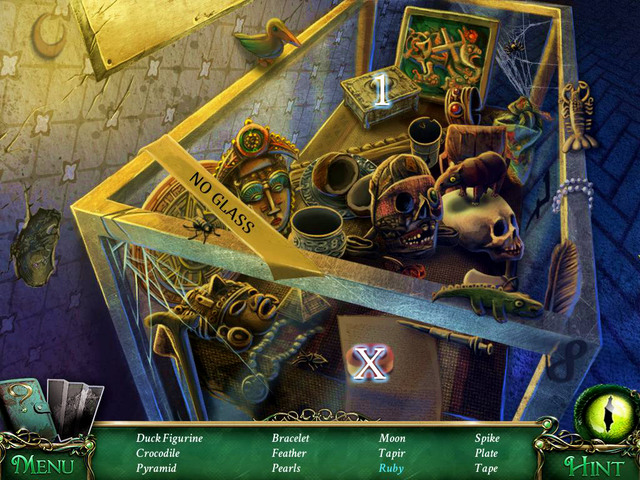 Crucial item [X] - Tape - Hidden-object scenes - Collectibles and puzzles - 9 Clues: The Secret of Serpent Creek - Game Guide and Walkthrough
