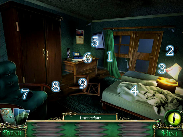 1 - Detective mode - Collectibles and puzzles - 9 Clues: The Secret of Serpent Creek - Game Guide and Walkthrough