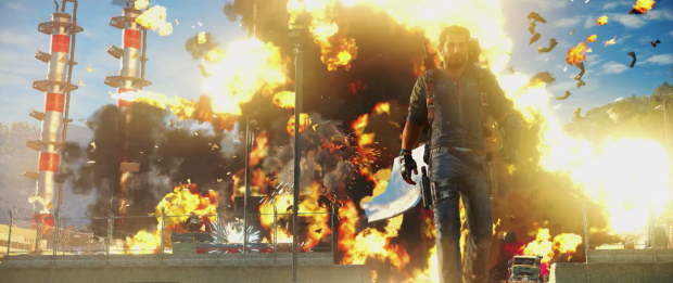 Just Cause 3 massive explosions