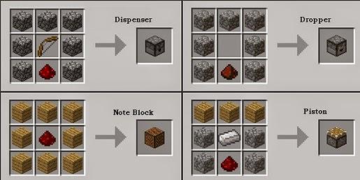 horloge beste leverancier beste leverancier Minecraft: heres how to create / craft Redstone Items_all ...