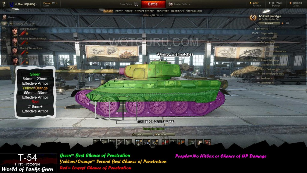T54FirstPrototype_Side