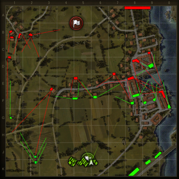 Map strategy fishermans bay world of tanks guruworld of tanks a quick look shows that side onegreen lacks viable hard cover for the western side of the map the main cover there is found in j2k2 near the windmill gumiabroncs Choice Image