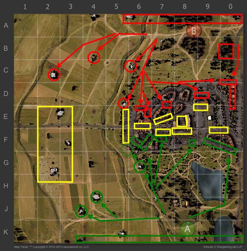 Map Strategy: Siegfried Line - World of Tanks_World of Tanks