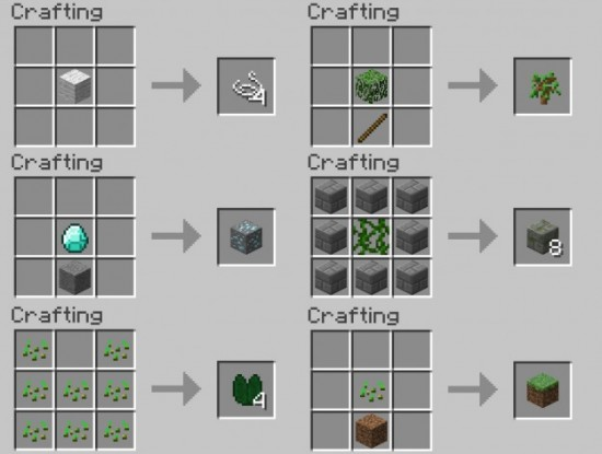 Advanced Crafting Table Command Block