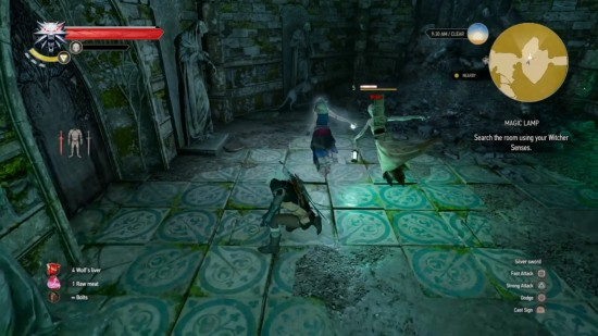 The Witcher 3: Wild Hunt Guide - How to Solve Magic Lamp Flame ...