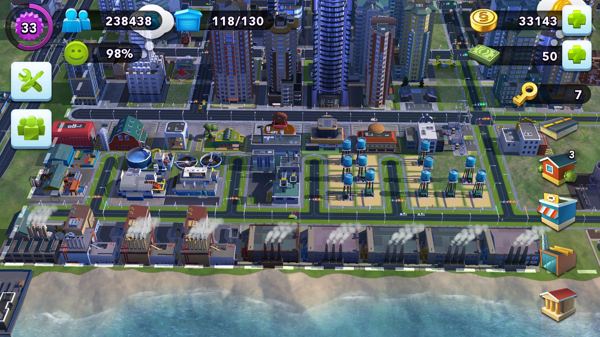 Simcity buildit factory