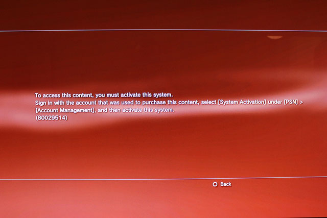 ps4 hacked account