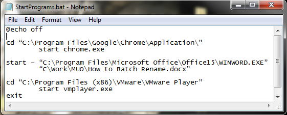 How to Use Windows Batch File Commands to Automate